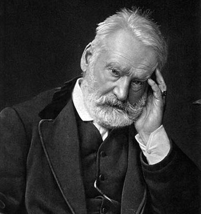 Picture of Victor Hugo from wikimedia commons