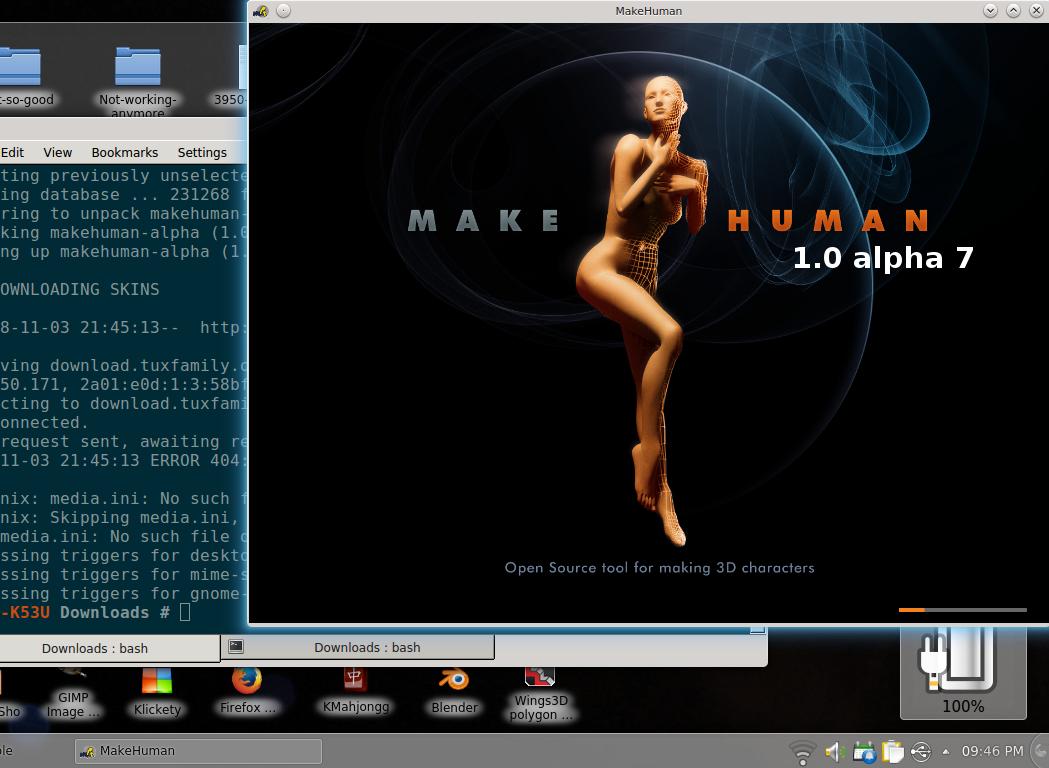 makehuman 1.0 alpha 6